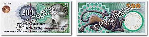 et hundrede kroner