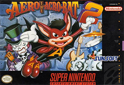 <i>Aero the Acro-Bat 2</i> 1994 video game
