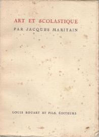 Art and Scholasticism (French edition).jpg