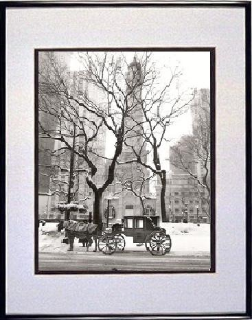 Bw19 Black White Chicago Water Tower Horse Carriage Pictures Photos Prints Framed Jpg