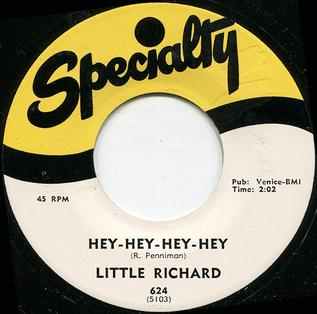 Hey-Hey-Hey-Hey! 1958 single by Little Richard