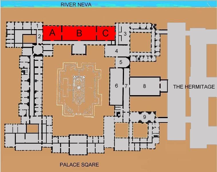 Neva Enfilade Of The Winter Palace Wikipedia