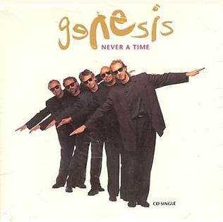Never a Time 1992 single by Genesis