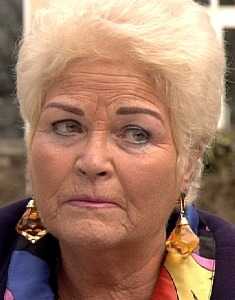 Pat Butcher fictional character from the BBC soap opera EastEnders