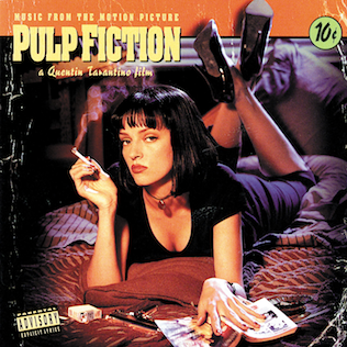 <i>Music from the Motion Picture Pulp Fiction</i> soundtrack of Pulp Fiction film