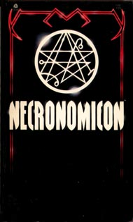 <i>Simon Necronomicon</i> 1977 grimoire, the best-known real book named after the fictional Necronomicon