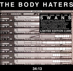<i>34:13</i> 1999 studio album by The Body Haters
