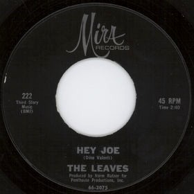 Hey Joe Song written and composed by Billy Roberts