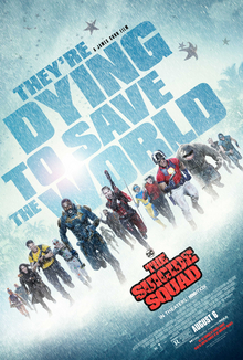 File:The Suicide Squad (film) poster.jpg Description This is a poster for the film The Suicide Squad. The poster art copyright is believed to belong to the distributor of the item promoted, Warner Bros. Pictures, the publisher of the item promoted or the graphic artist.