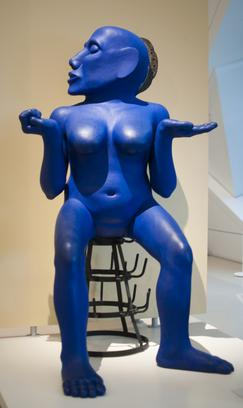 (Untitled) The Blue Lady Sculpture.jpg
