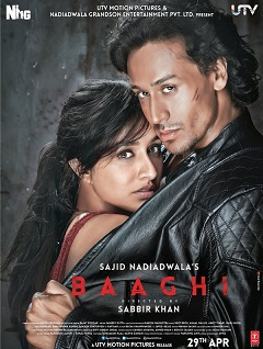 <i>Baaghi</i> (2016 film) 2016 Hindi film directed by Sabbir Khan