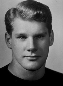 A headshot of a young Creighton Miller