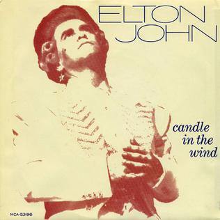 Candle in the Wind 1973 single by Elton John