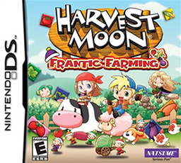 <i>Harvest Moon: Frantic Farming</i> video game