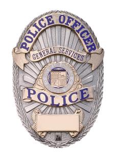 File La General Services Police Badge Png Wikipedia