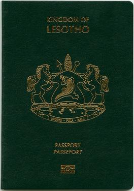 Lesotho passport - Wikipedia