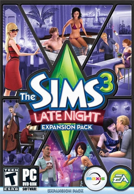 Picture of a game: The Sims 3: Late Night