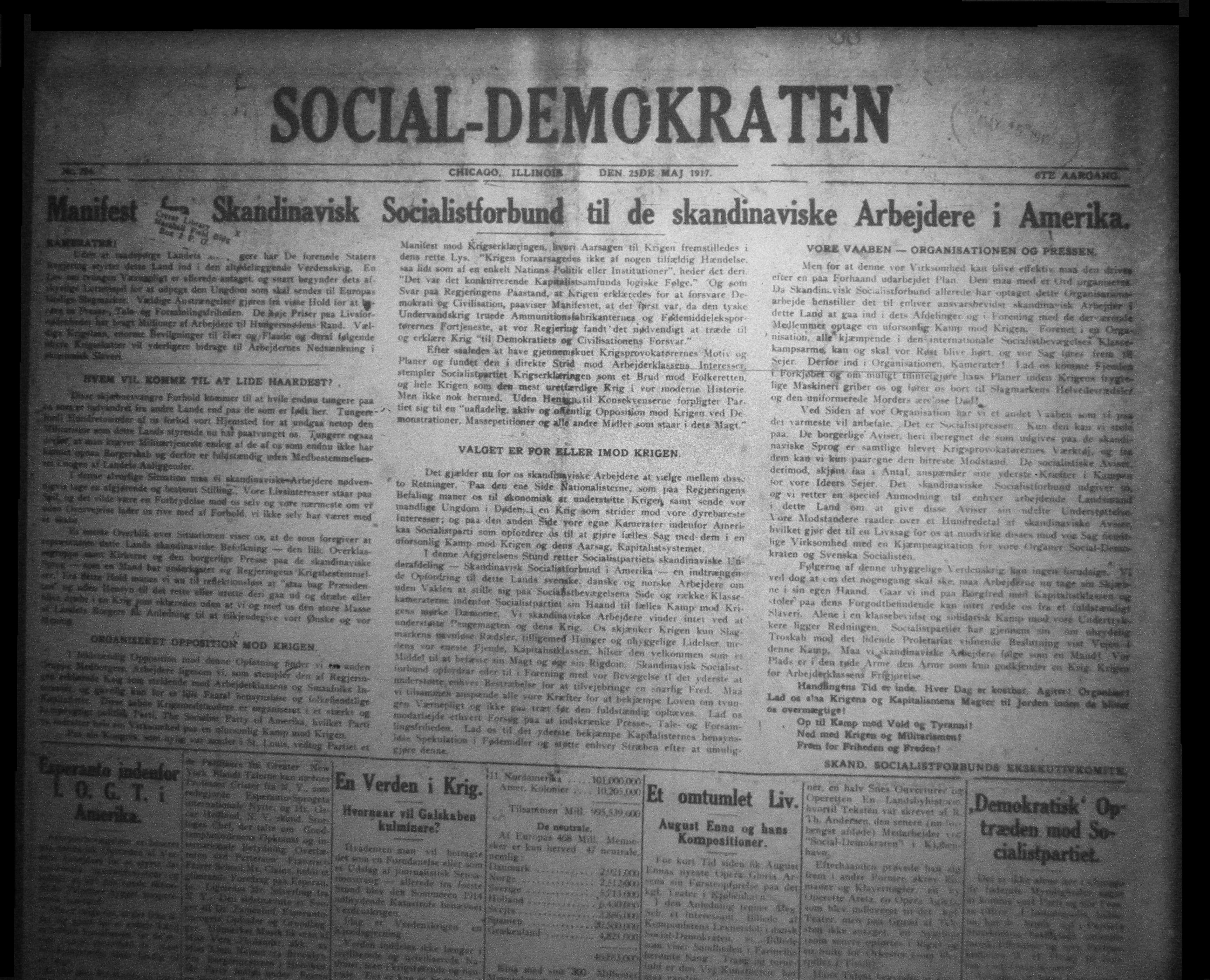 Social-Demokraten (Chicago) - Wikipedia