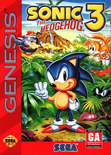 <i>Sonic the Hedgehog 3</i> 1994 video game