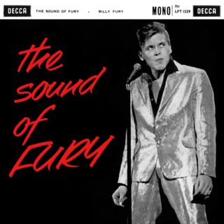 <i>The Sound of Fury</i> (album) 1960 studio album by Billy Fury