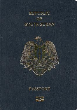 South Sudanese passport - Wikipedia
