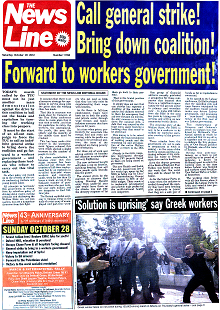 The News Line front page 20 October 2012.png