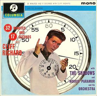 <i>32 Minutes and 17 Seconds with Cliff Richard</i> 1962 studio album by Cliff Richard with The Shadows and Norrie Paramor and his Orchestra