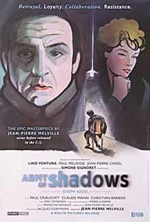 Army of Shadows (1969) movie poster