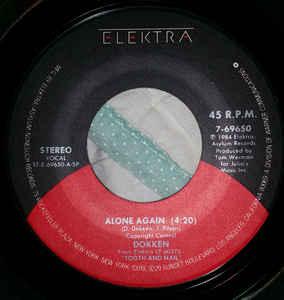 Alone Again (Dokken song) 1984 single by Dokken