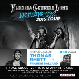 Promo Code For Florida Georgia Line Tickets