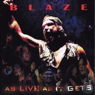 <i>As Live as It Gets</i> 2003 live album by Blaze