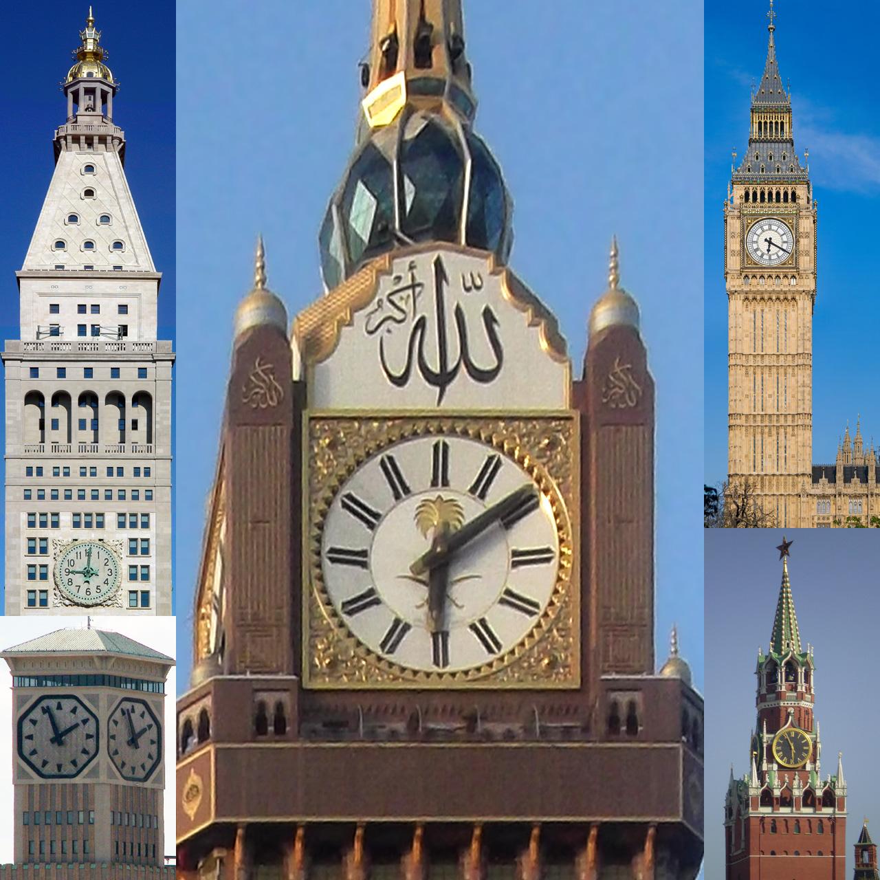 Image result for menara jam di mekah