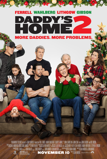 A Christmas Kiss Cast.Daddy S Home 2 Wikipedia