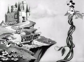 <i>Giantland</i> 1933 Mickey Mouse short by Burt Gillett