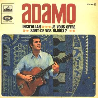 InchAllah (Adamo song) 1967 single by Adamo