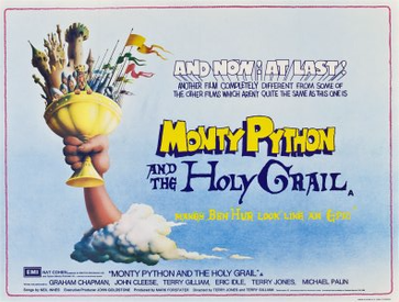 Image result for monty python holy grail poster