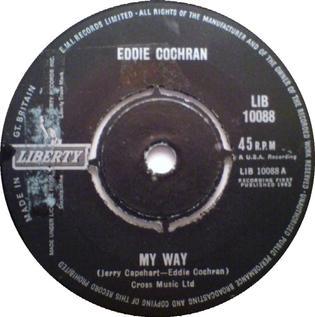 My Way (Eddie Cochran song) 1963 song performed by Eddie Cochran