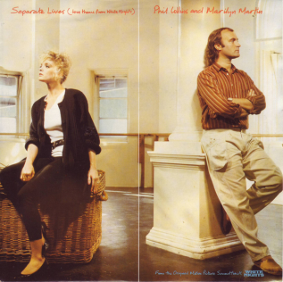 Separate Lives 1985 single by Phil Collins and Marilyn Martin