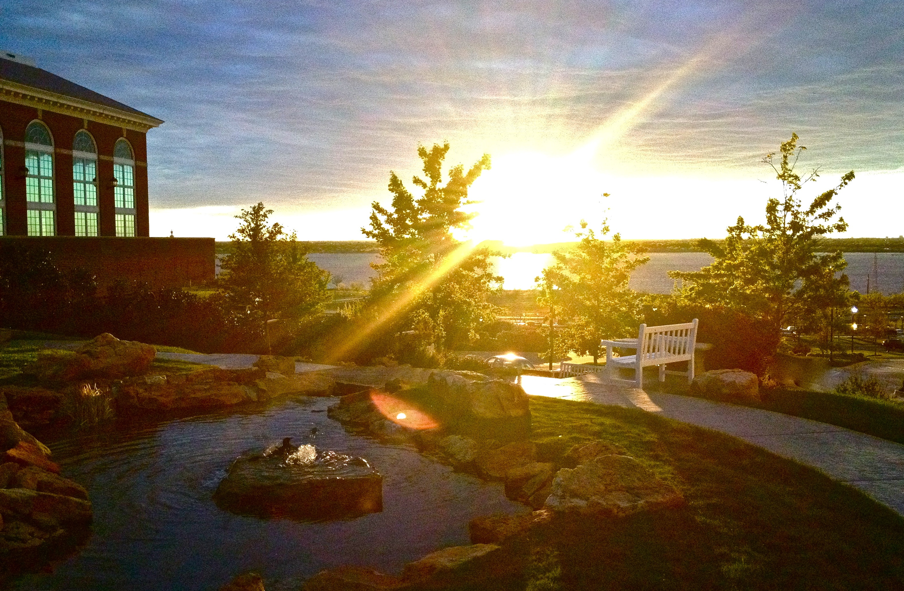 Merveilleux File:Sunset At Ellis Prayer Garden, Dallas Baptist University