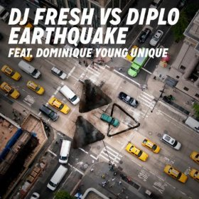 DJ Fresh vs. Diplo featuring Dominique Young Unique — Earthquake (studio acapella)