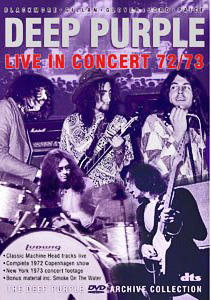 <i>Live in Concert 1972/73</i> 2005 video by Deep Purple