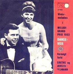 Dansevise 1963 Grethe Ingmann & Jørgen Ingmann song