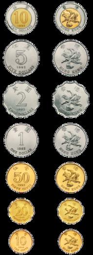hong kong coins 10 cents