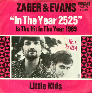 Zager and Evans — In the Year 2525 (studio acapella)