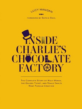 <i>Inside Charlies Chocolate Factory</i> book by Lucy Mangan
