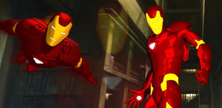 the iron man mark 2 armor in the series