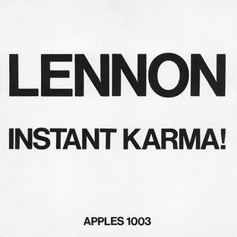 Instant Karma! single