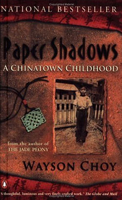 an analysis of paper shadows by sonny choy Paper shadows: a memoir of a past lost and found [wayson choy] on amazoncom free shipping on qualifying offers from the author of the popular and widely acclaimed novel, the jade peony , comes this new autobiographical exploration of past and present.