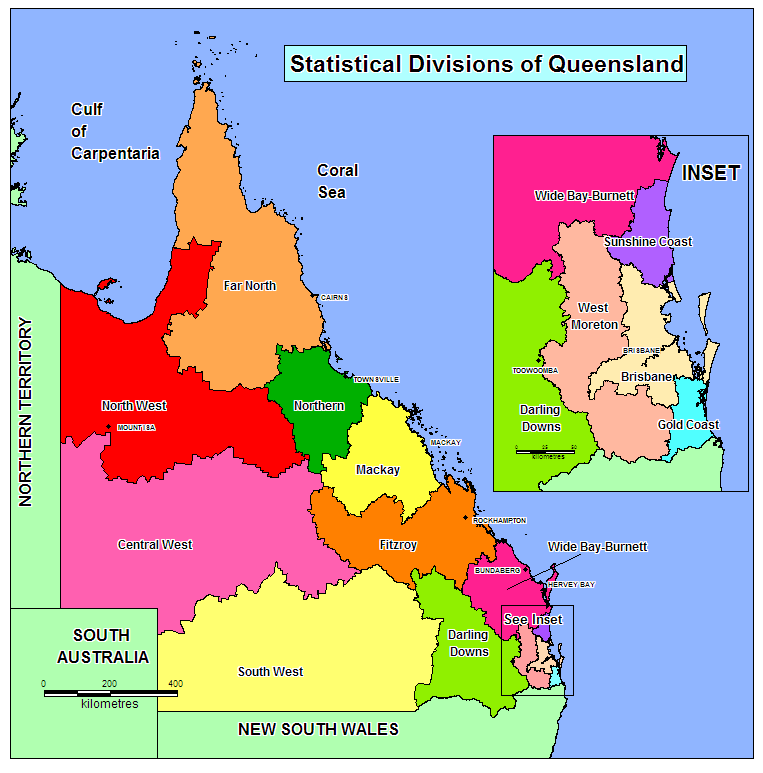 Pictures Of Queensland. File:Regions of queensland sd