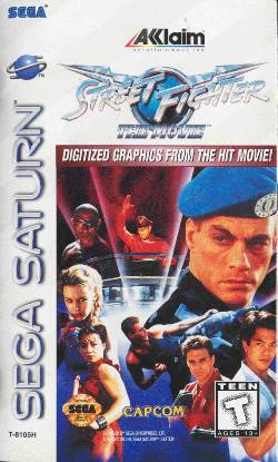 Street Fighter The Movie Console Video Game Wikipedia